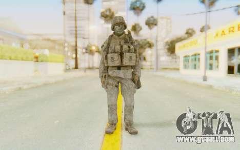 CoD MW2 Ghost Model v3 for GTA San Andreas second screenshot