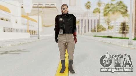 MGSV Phantom Pain Venom Snake Leather Jacket for GTA San Andreas second screenshot