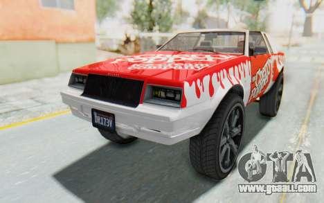 GTA 5 Willard Faction Custom Donk v1 IVF for GTA San Andreas side view
