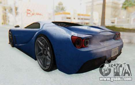 GTA 5 Vapid FMJ for GTA San Andreas left view
