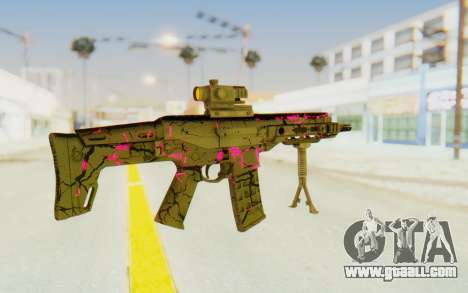 ACR CQB Magma Pink for GTA San Andreas second screenshot