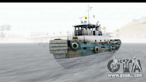 GTA 5 Buckingham Tug Boat v1 IVF for GTA San Andreas right view