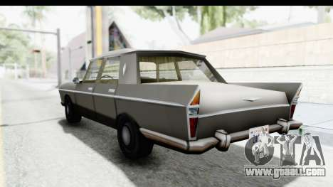Simca Vedette from Bully for GTA San Andreas left view