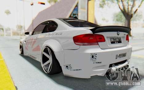 BMW M3 E92 Liberty Walk LB Performance for GTA San Andreas left view
