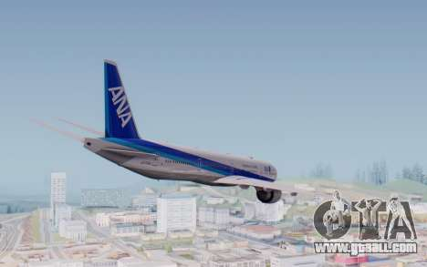 Boeing 777-300ER ZK-OKO - Smaug Livery for GTA San Andreas right view