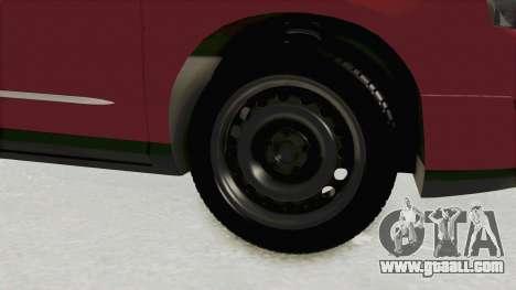 Volkswagen Passat B6 Variant for GTA San Andreas back view