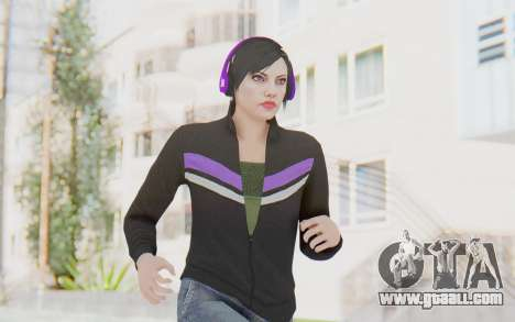 GTA Online Skin Female for GTA San Andreas