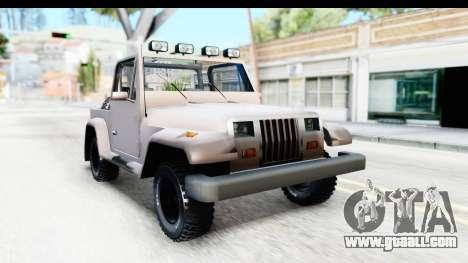 Mesa MAXimum 4x4 for GTA San Andreas