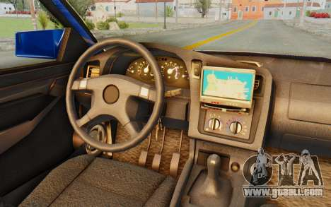 Opel Astra F Kombi 1997 for GTA San Andreas inner view