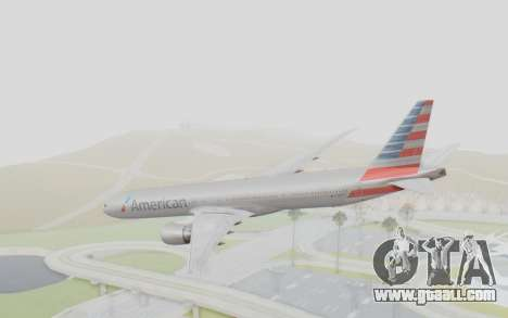 Boeing 777-300ER American Airlines N727AN for GTA San Andreas left view