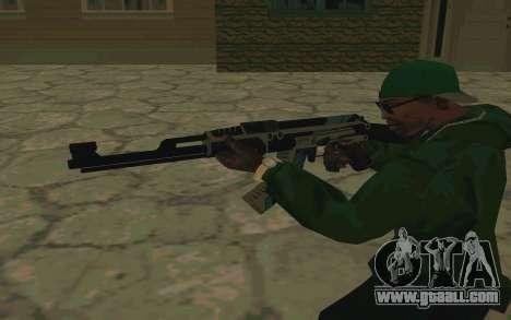 AK-47 Vulcan (SA) for GTA San Andreas fifth screenshot