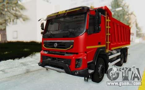 Volvo FMX 6x4 Dumper v1.0 for GTA San Andreas right view