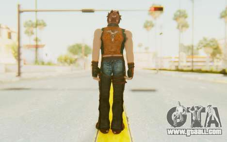Hwoarang Skin for GTA San Andreas third screenshot