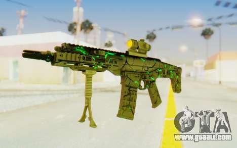 ACR CQB Magma Green for GTA San Andreas second screenshot