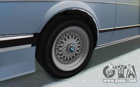 BMW M635 CSi (E24) 1984 IVF PJ1 for GTA San Andreas back view