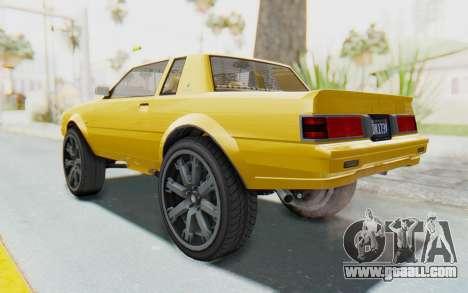 GTA 5 Willard Faction Custom Donk v1 IVF for GTA San Andreas left view