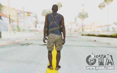 CoD MW3 Africa Militia v2 for GTA San Andreas third screenshot