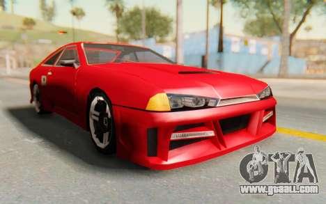 Elegy GT v1 for GTA San Andreas back view