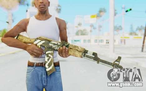 CS:GO - AK-47 Wasteland Rebel for GTA San Andreas third screenshot
