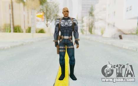 Marvel Future Fight - Nick Fury for GTA San Andreas second screenshot