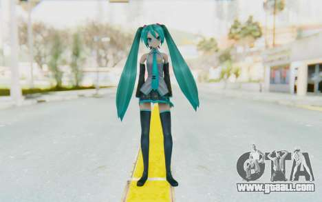 Project Diva F2 - Hatsune Miku (Music Girl) for GTA San Andreas second screenshot