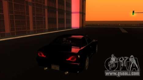 Elegy Bushido for GTA San Andreas back left view