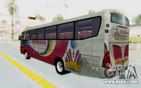Marcopolo Inforana Bus for GTA San Andreas left view