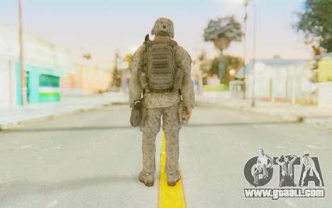 CoD MW2 Ghost Model v3 for GTA San Andreas third screenshot