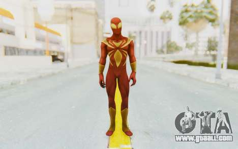 Marvel Heroes - Iron Spider for GTA San Andreas second screenshot