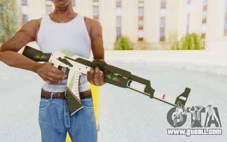 CS:GO - AK-47 Sport for GTA San Andreas third screenshot