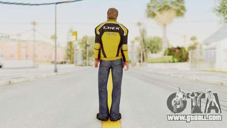 Dead Rising 3 Chuck Greene on DR2 Outfit for GTA San Andreas third screenshot