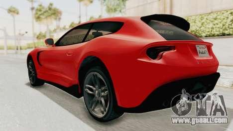 GTA 5 Grotti Bestia GTS v2 IVF for GTA San Andreas left view