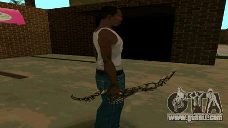 Prince Of Persia Water Sword for GTA San Andreas eighth screenshot