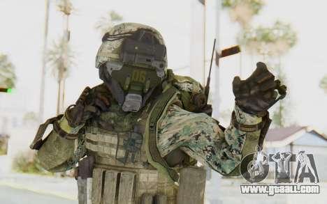 CoD AW US Marine Assault v1 Head A for GTA San Andreas