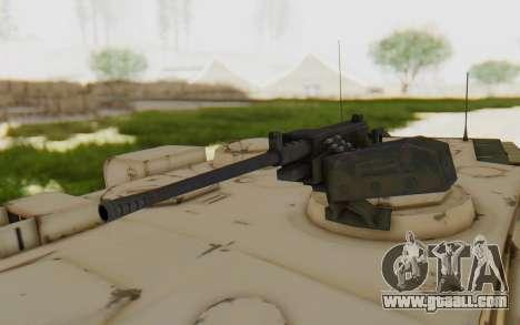 MGSV Phantom Pain M84A MAGLOADER for GTA San Andreas back view