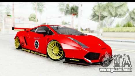 Lamborghini Gallardo Superleggera 2007 for GTA San Andreas