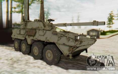 MGSV Phantom Pain STOUT IFV APC Tank v1 for GTA San Andreas right view