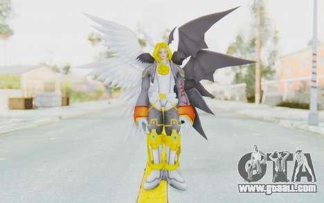 Digimon Masters Lucemon Falldown Mode for GTA San Andreas second screenshot