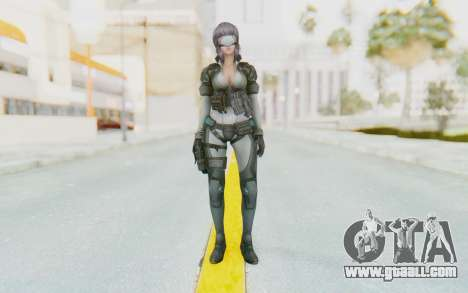 Ghost In The Shell First Assautl Motoko v1 for GTA San Andreas second screenshot