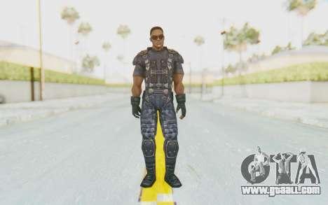 Marvel Future Fight - Falcon for GTA San Andreas second screenshot