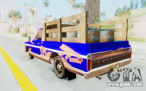 Chevrolet C10 1970 for GTA San Andreas left view