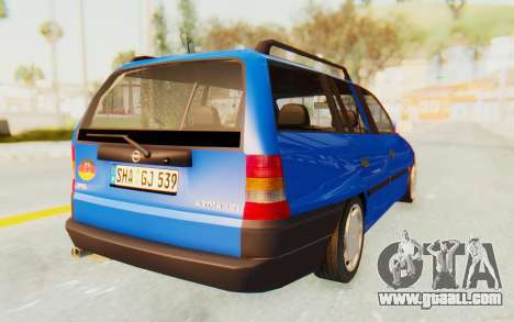 Opel Astra F Kombi 1997 for GTA San Andreas back left view