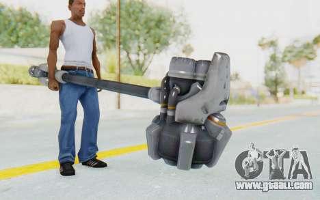 Reinhardt Hammer for GTA San Andreas