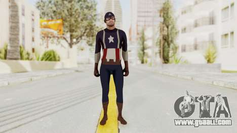 Trevor in Captain America Suit for GTA San Andreas second screenshot
