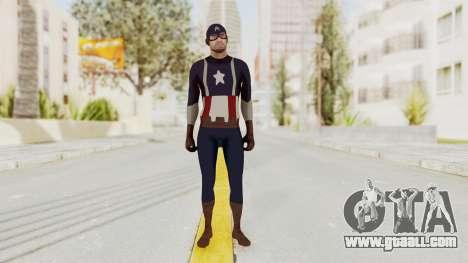 Trevor in Captain America Suit for GTA San Andreas second screenshot