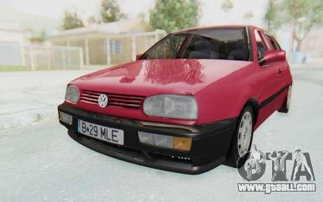 Volkswagen Golf 3 1994 for GTA San Andreas