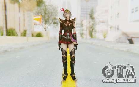Dynasty Warriors 8 - Lu Lingqi v1 for GTA San Andreas second screenshot