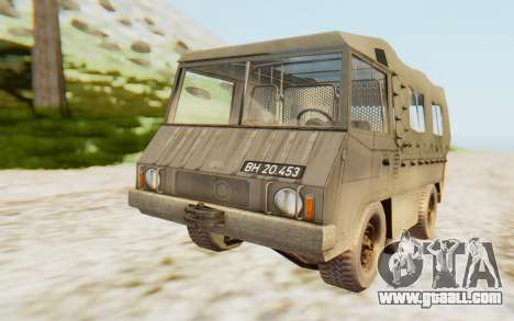 Pinzgauer 710M for GTA San Andreas right view