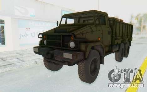 MGSV Phantom Pain BOAR 53CT Truck for GTA San Andreas
