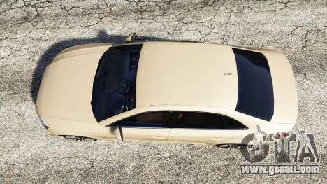GTA 5 Audi A4 2017 back view